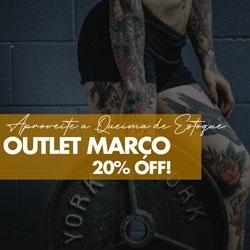 Outlet Março 20% OFF
