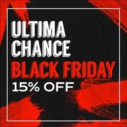 Última Chance Black Friday 15% OFF